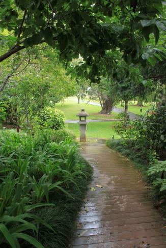 A botanikus kert Sydney-ben, semmiképpen sem szabad kigayni!